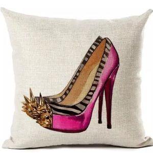 High Heel Accent Pillow